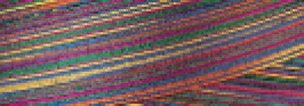 SM011 Tiedye Variegated Signature 40wt Cotton Thread 700yd Mini