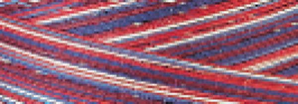 SM013 Stars and Stripes Variegated Signature 40wt Cotton Thread