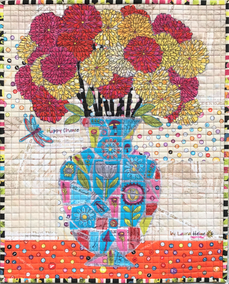 Teeny Tiny #11 Collage Kit Mosaic by Laura Heine. PRE-ORDER ONLY