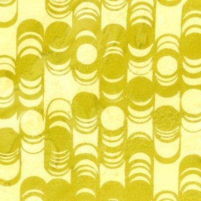 L2562 481 Bangles Key Lime Bali Handpaints for Hoffman Fabrics