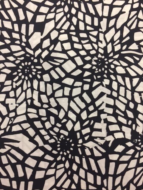 new products df9ca 4c594 Batik-Bali Fabrics-ST 3 10 Black White - 3