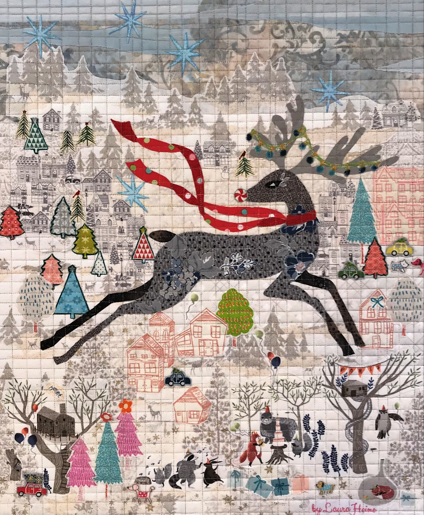 Teeny Tiny #10 Collage Kit Deer by Laura Heine.
