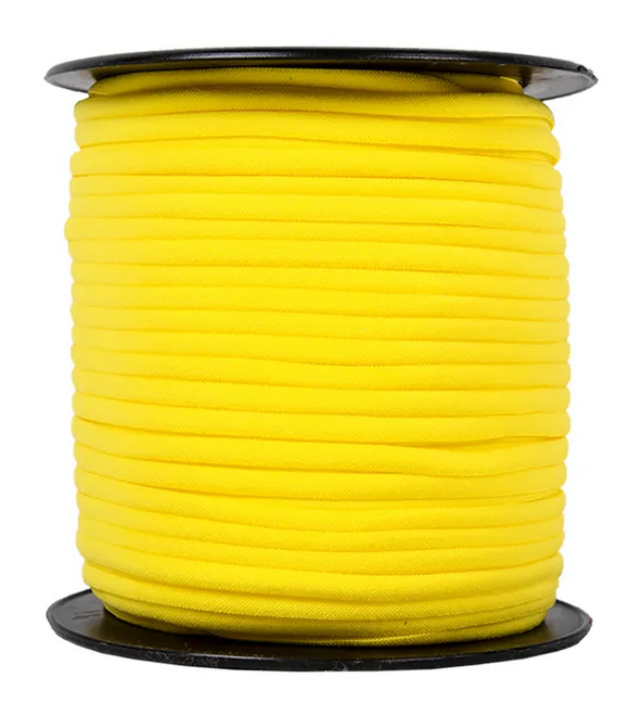 1/6 Banded Stretch Elastic Yellow