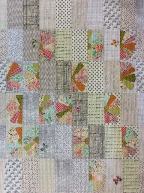 Zinnia Quilt Pattern by Laura Heine