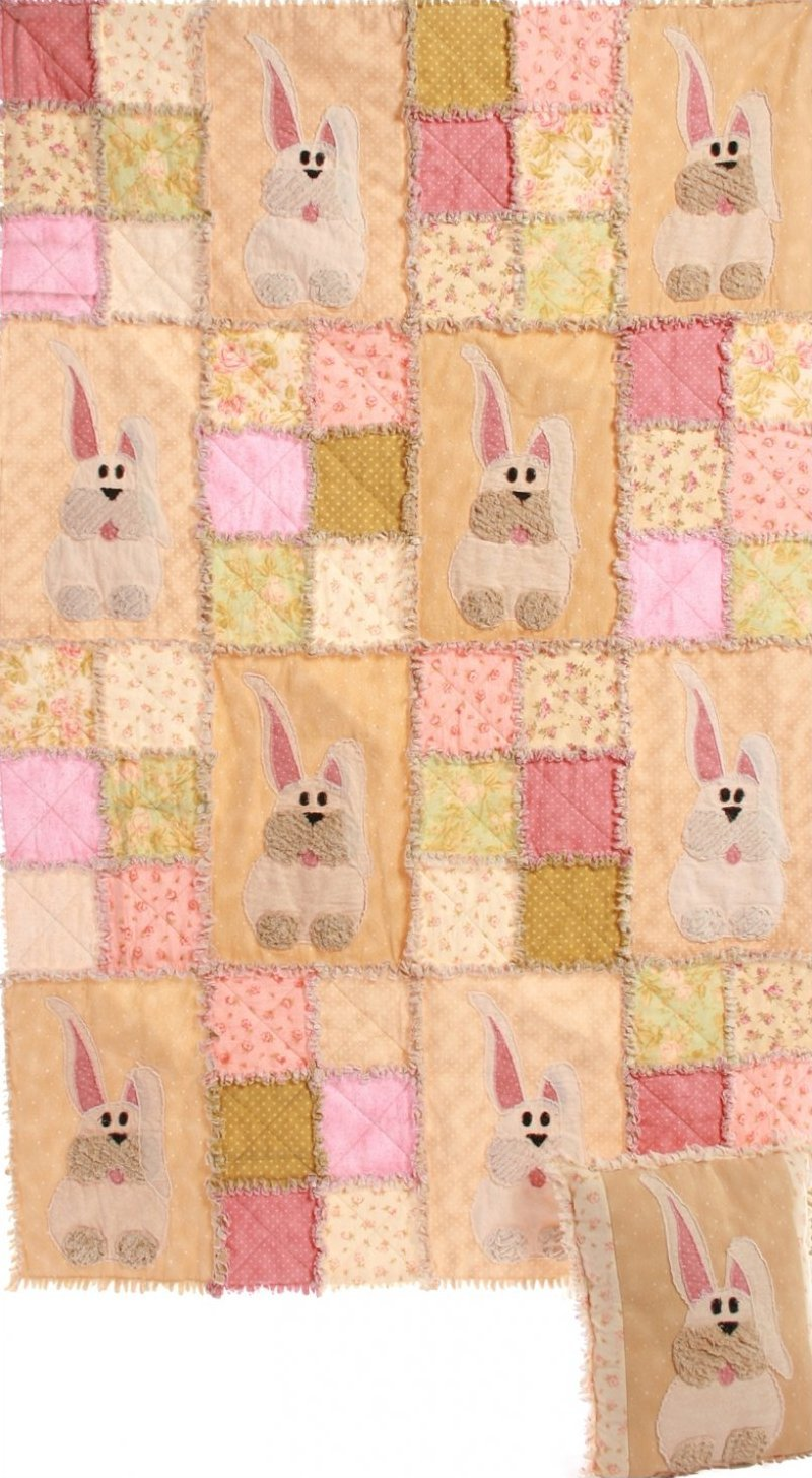 Welcome Spring Rabbits Pattern