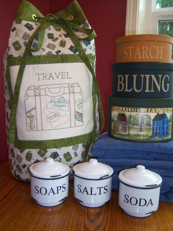 Travel Laundry Tote Bag Pattern