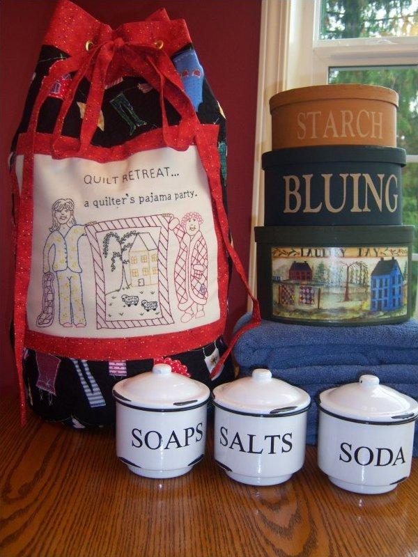 Retreat Laundry Tote Bag Pattern
