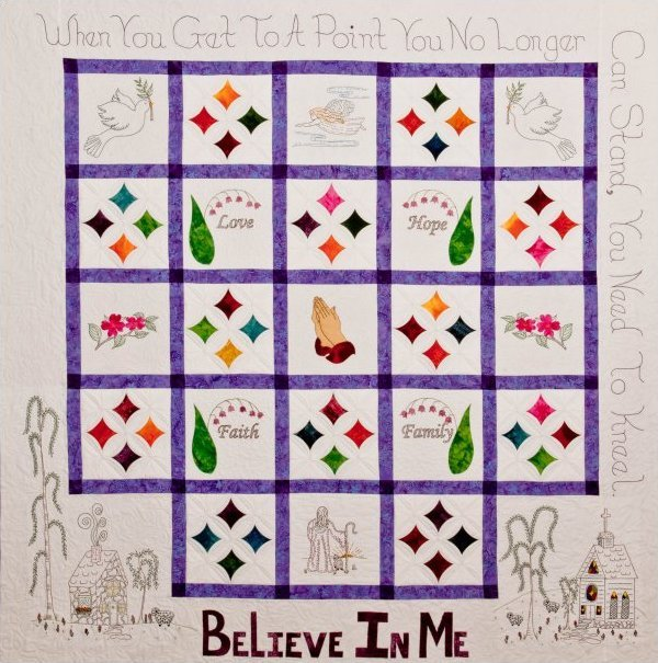 Believe In Me Inspirational Pattern