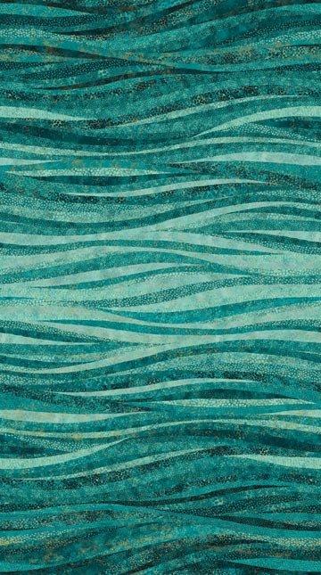 Artisan Spirit Shimmer Echoes Aqua Stripes