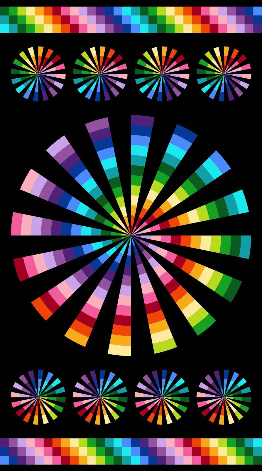 21586 Color Wheel Panel