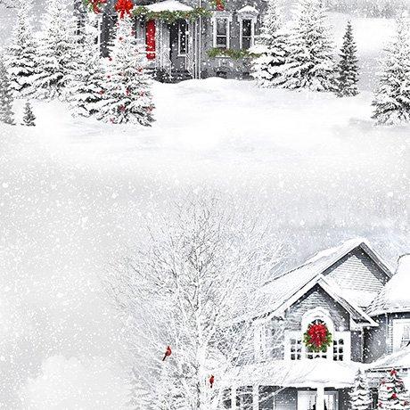 Christmastime Winter Scenic Vignettes