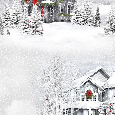 Christmas Backing Pkg -Home for the Holidays