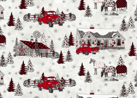 Western Greetings - Winter Scenic