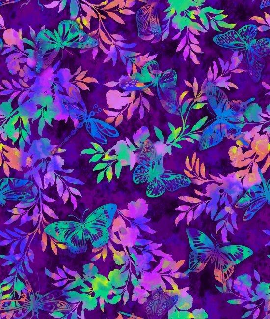 Aflutter - Aflutter & Fern in Purple