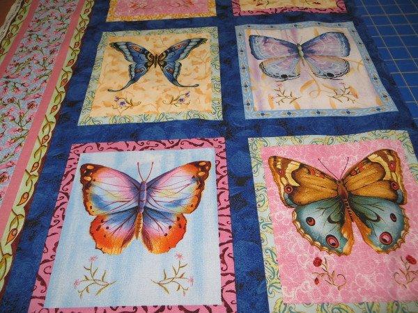 Blue Butterfly Blocks