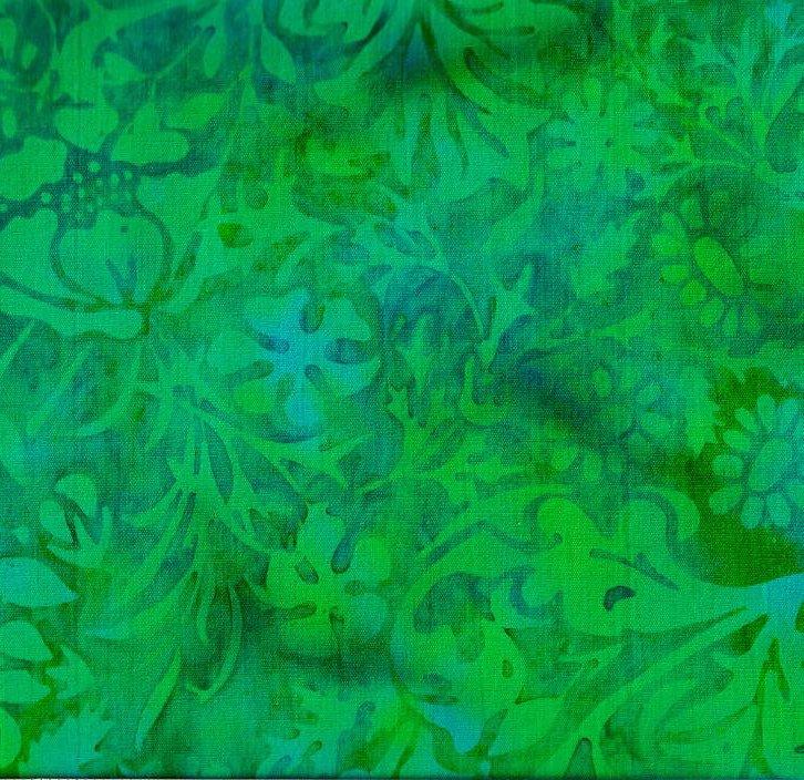 Batik Cherwell Chameleon Flowers