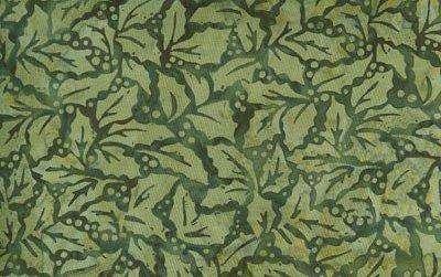Batik Green Holly