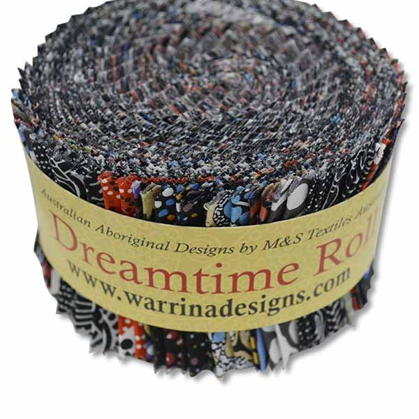 Dreamtime Jelly Roll (40 Strips) Black
