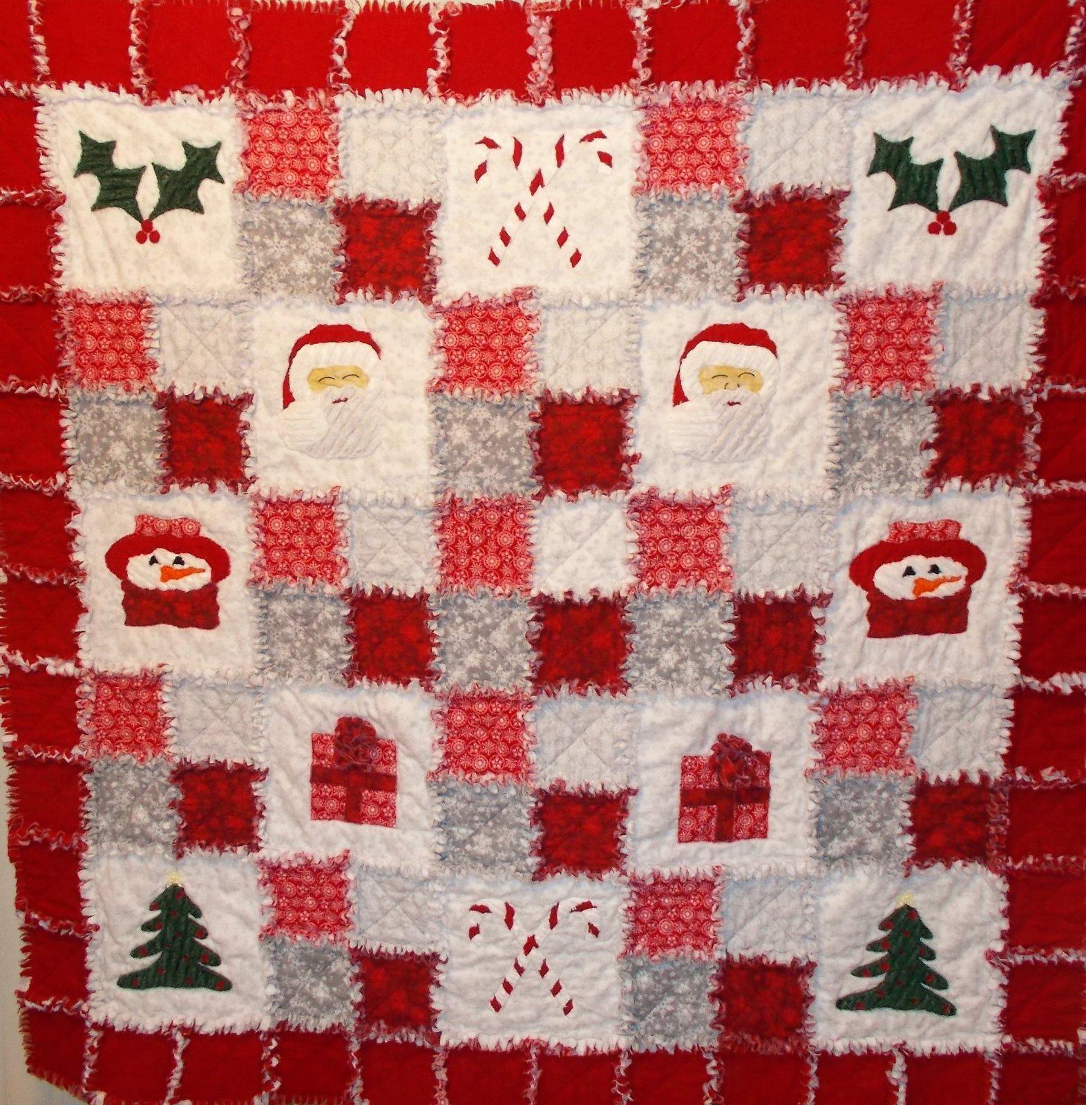A Ragged Christmas Pattern