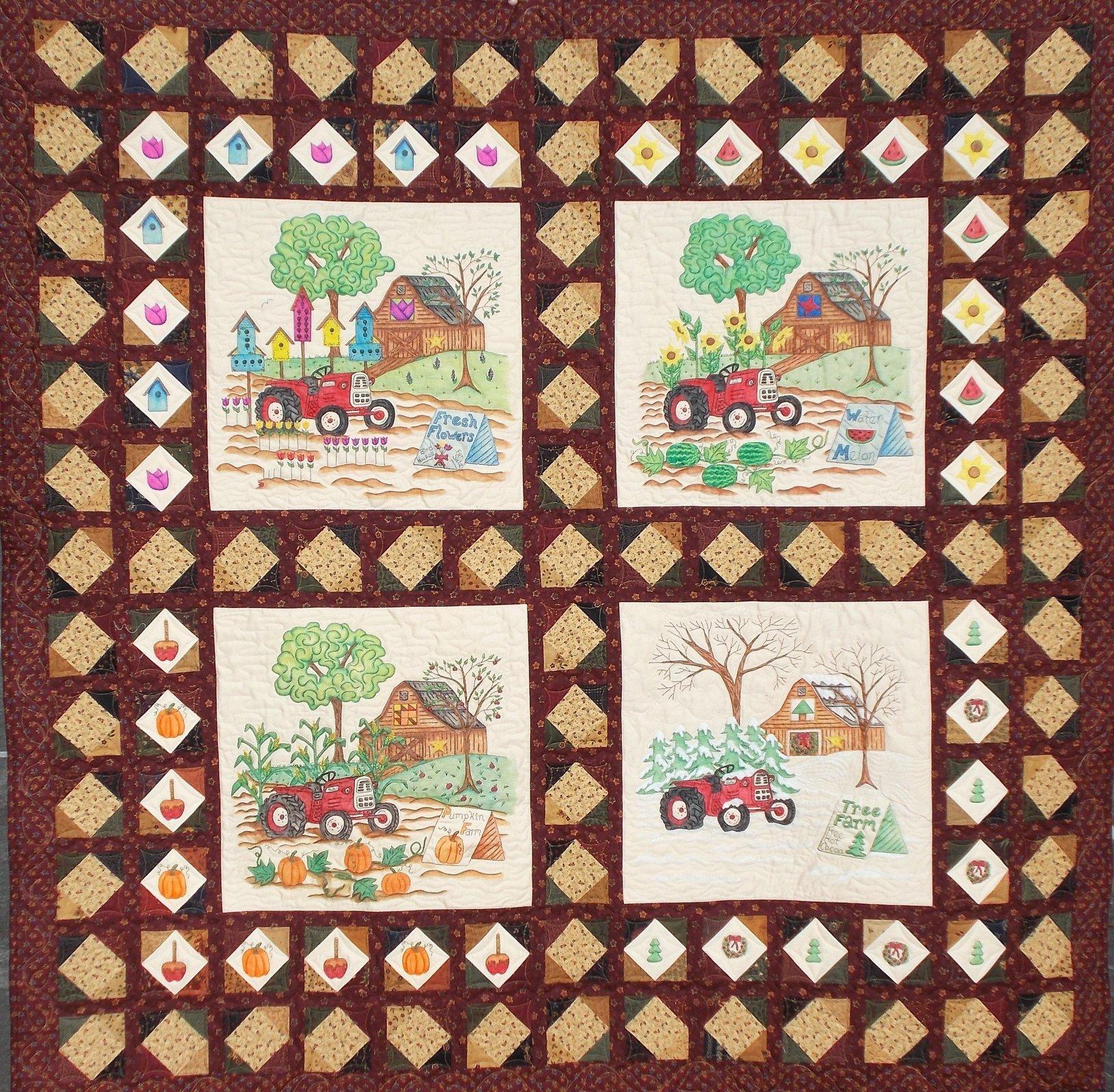 Seasons on the Farm Pattern