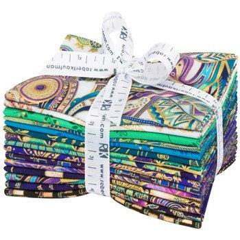 FQ Bundles: Treasures of Alexandria - Jewel Colorstory