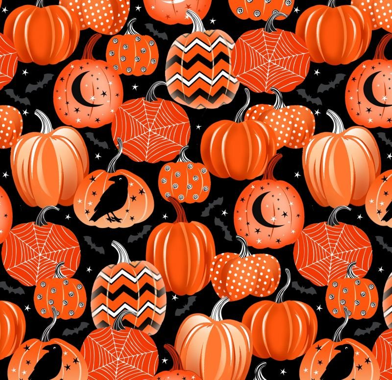 Fangtastic Pumpkins GITD