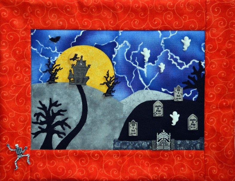 Haunted Hill Mouse Blankets