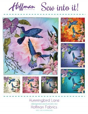 Sew Into It - Hummingbird Lane Applique Kit