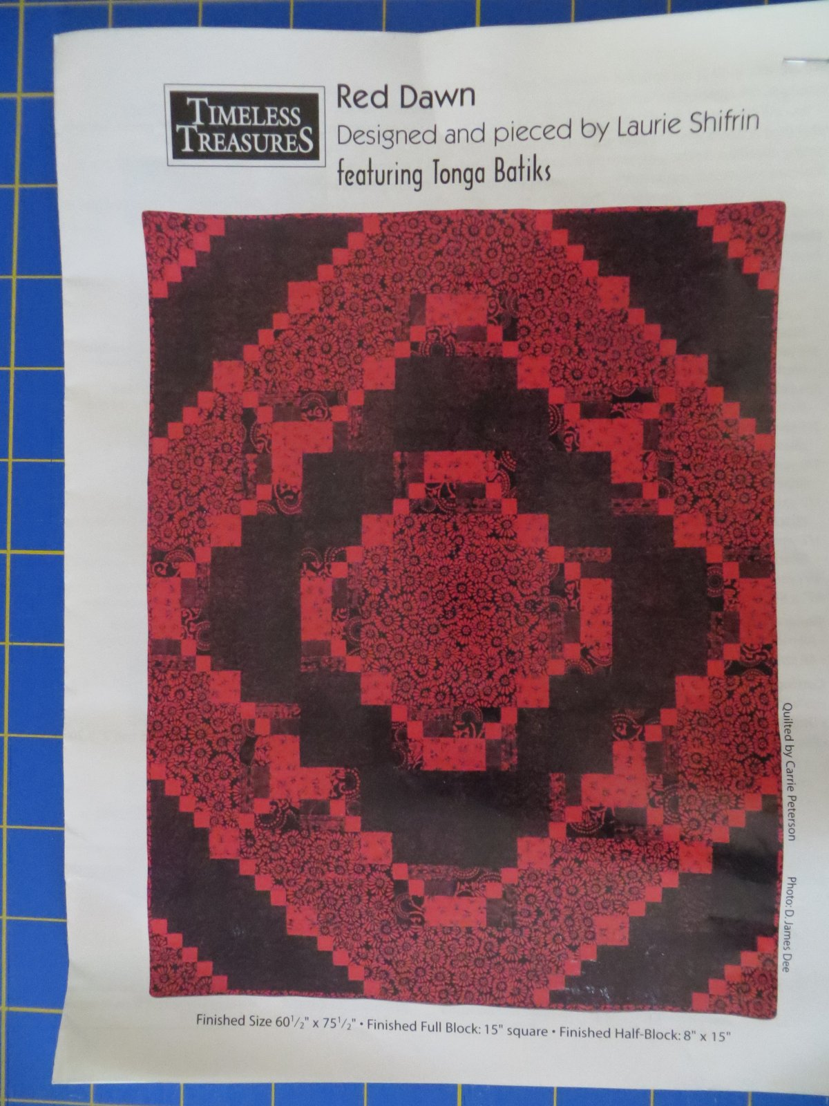 Red Dawn Quilt