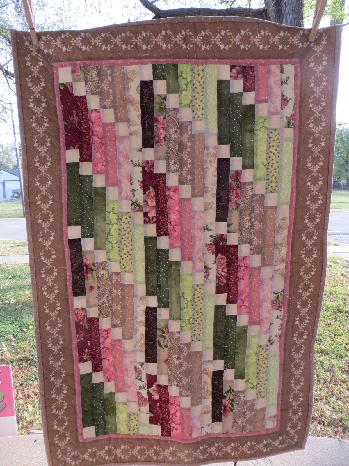 Graceful Cascade Quilt