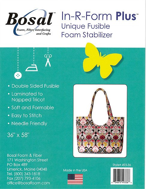 Bosal In-R-Form Plus Fusible 36 X 58