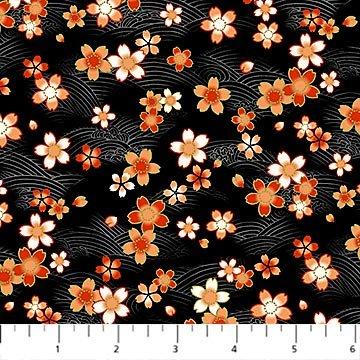Kyoto Garden Mini Flower Black