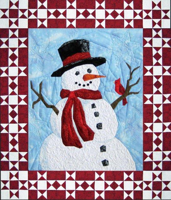 Mr. Frosty Wall Hanging Pattern