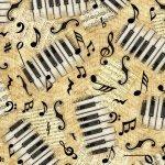 Encore Musical Notes Cream