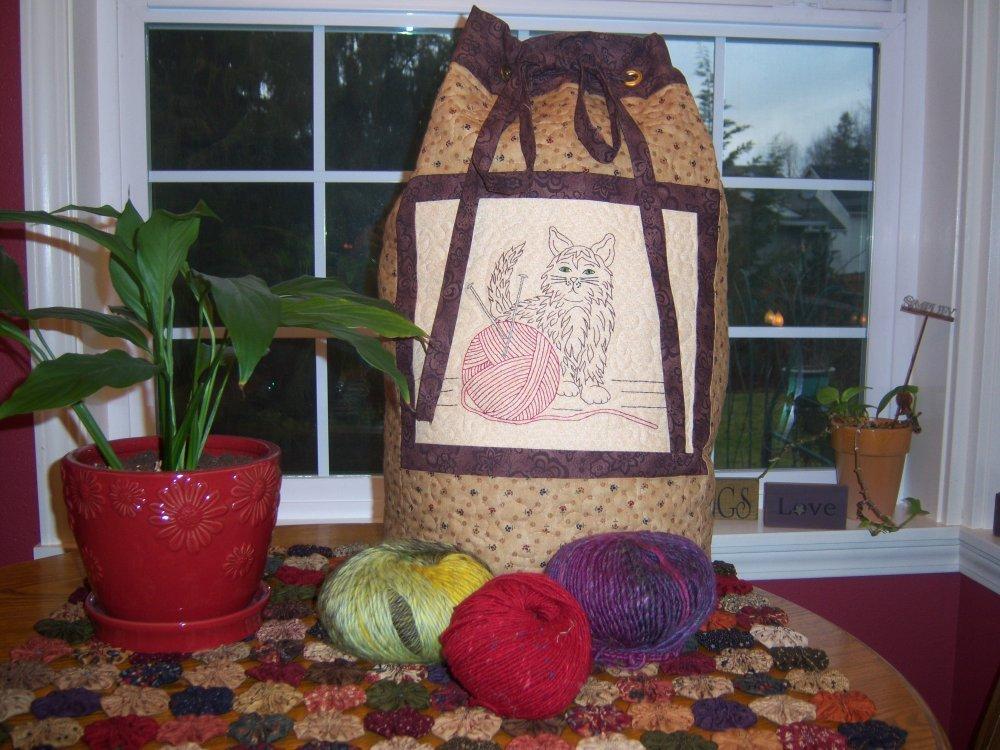 My Yarn Bag Pattern
