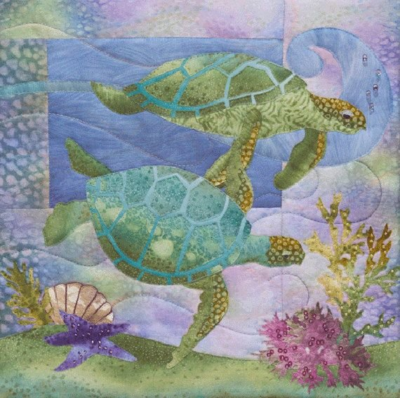 Sea Breeze The Nerdles Applique Pattern/Kit