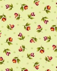 Catalina Orange Buds on Green