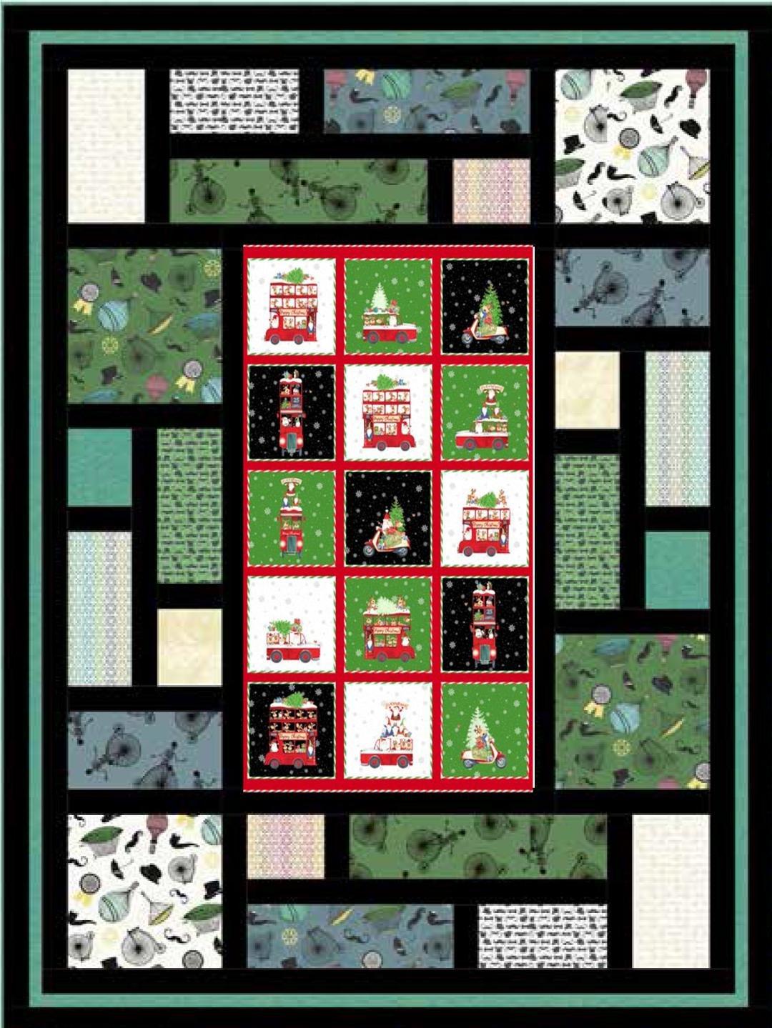 Double Decker Christmas Kit
