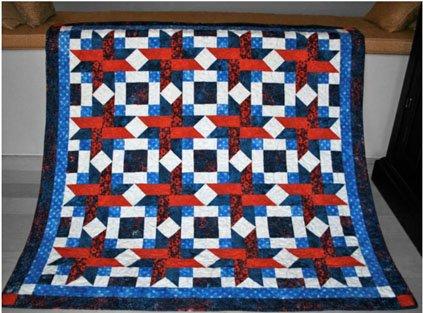 Ribbon Star Vetern's Quilt Kit