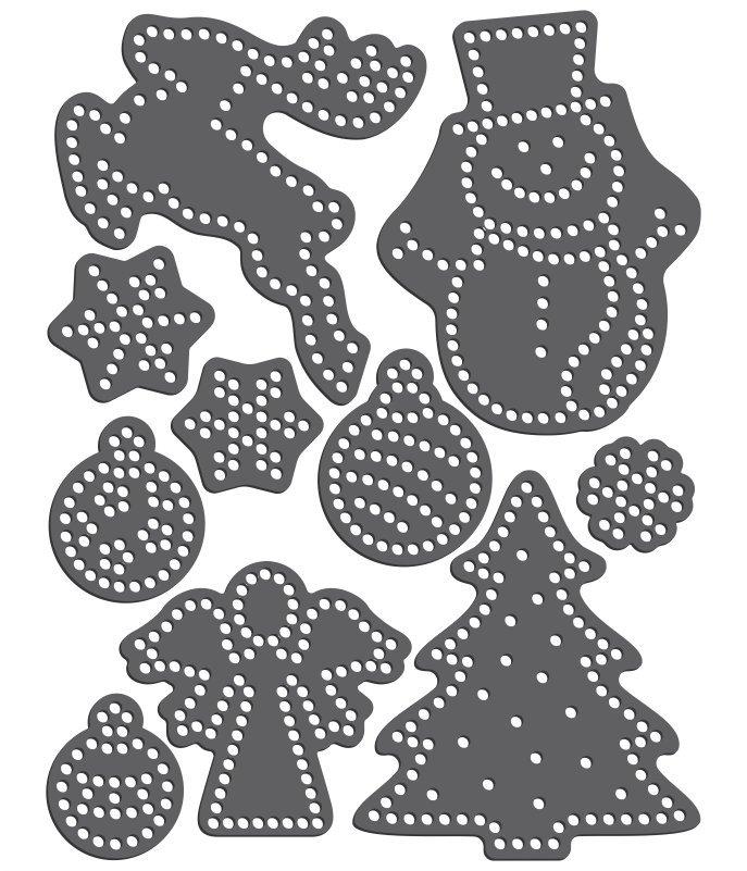 Rhinestone Template - Winter Variety Pack