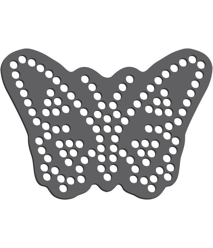 Rhinestone Template - Butterfly