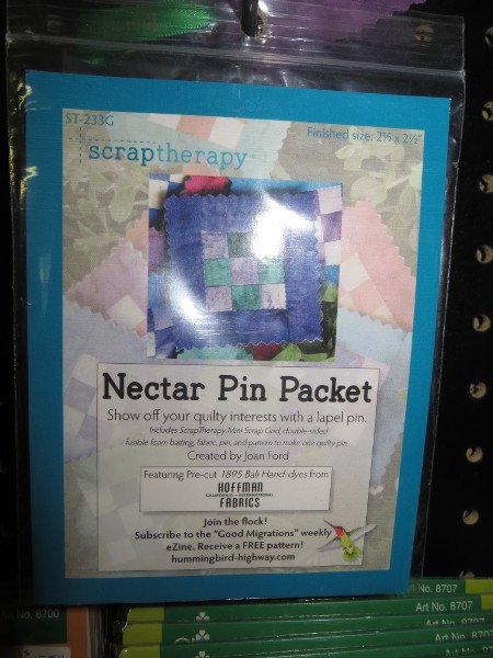 Scraptherapy  Nectar Pin Packet