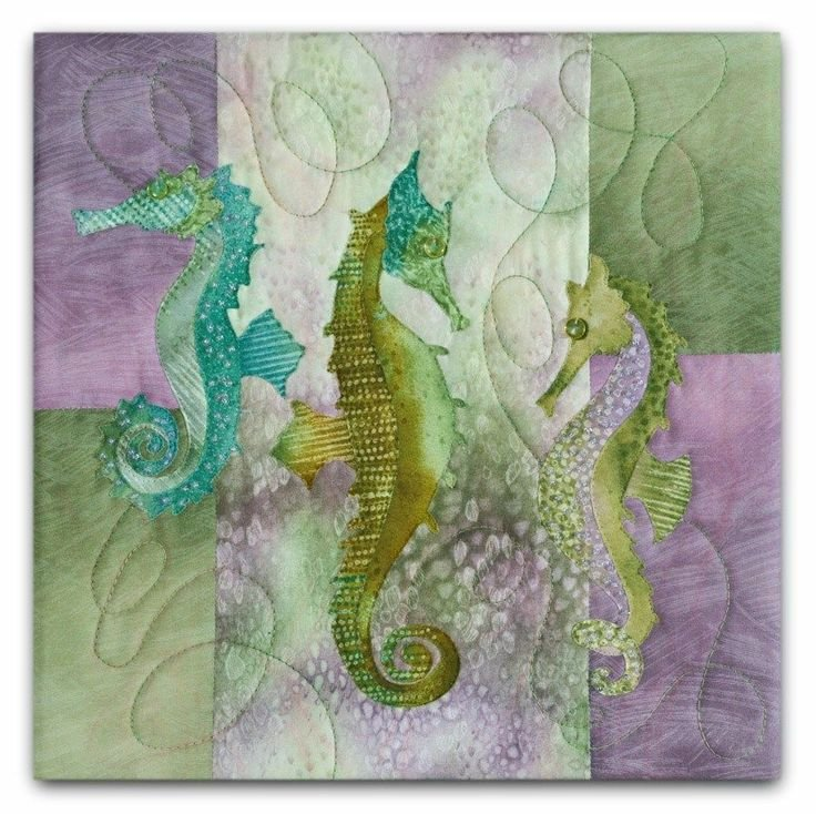 Sea Breeze The Snooty Sisters Applique Pattern/Kit
