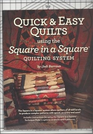 Square n Sq Ruler/w Quick & Easy Quilts Booklet