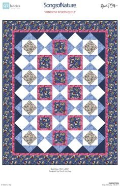 Songs of Nature Quilt Kit