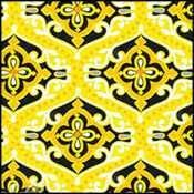Sundance Geometric Scrolls/Dots/yellow