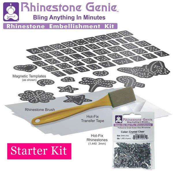 Rhinestone Template Starter Kit