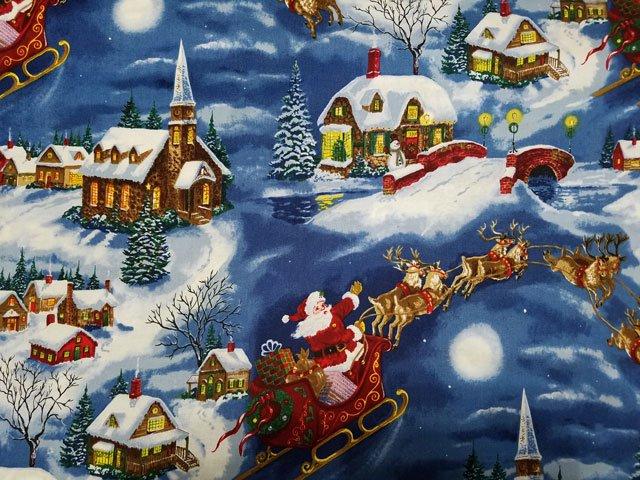 Tis the Season - Santa's Sleigh Scene