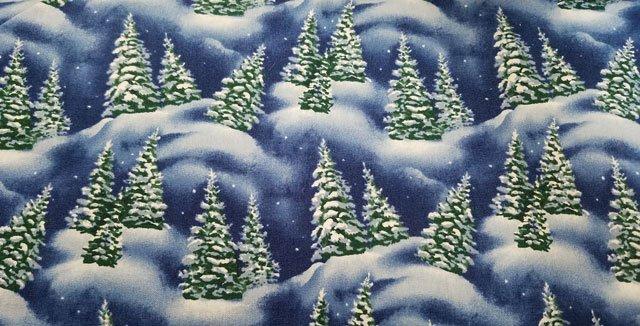 Tis the Season Pine Trees