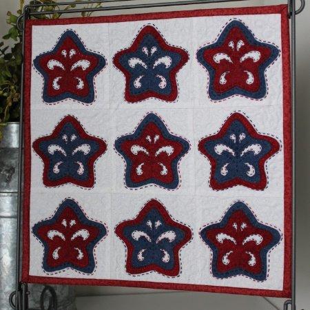Folk Art Stars - Kit